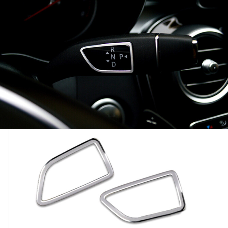 Interior Accessories Shift Knob&wiper Blade Cover Trim Aluminium Alloy 2pcs For Mercedes-Benz Vito 2014-2018 image