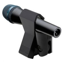 Mic-Stand-Accessory Microphone Clip-Holder Mount Clamp New Plastic Black Flexible