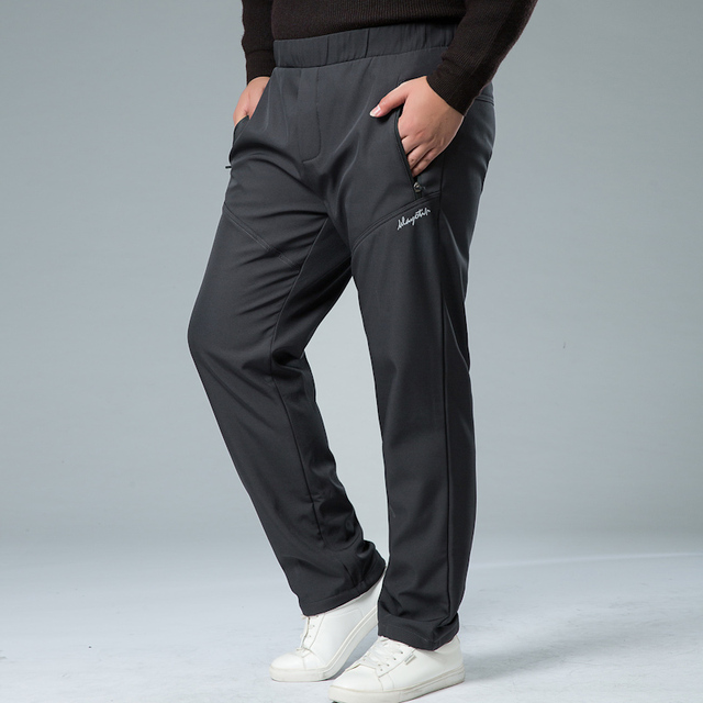 Mens Winter Pant Thick Warm Cargo Pants Casual Outwear Pockets Trousers Plus Size 8XL 7XL Fashion Loose Baggy Pant for Worker 5