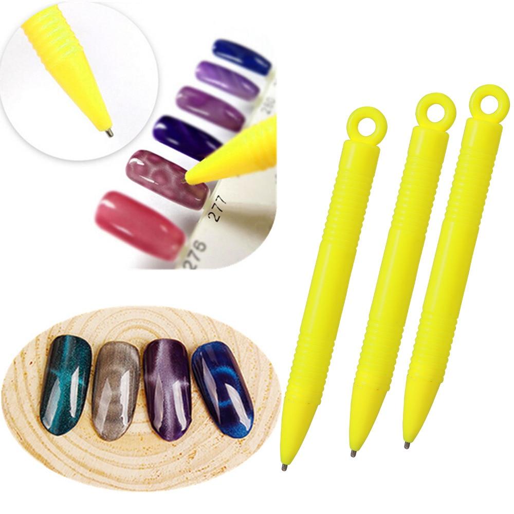 10 STÜCKE Nail art Werkzeug Magnetstift Für DIY Magic 3D magnetische ...