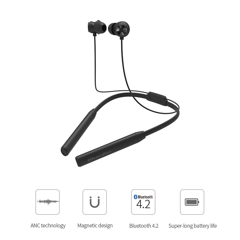 Bluedio TN2 Sports Bluetooth earphone with active noise cancelling /Wireless Headset for phones and music 2