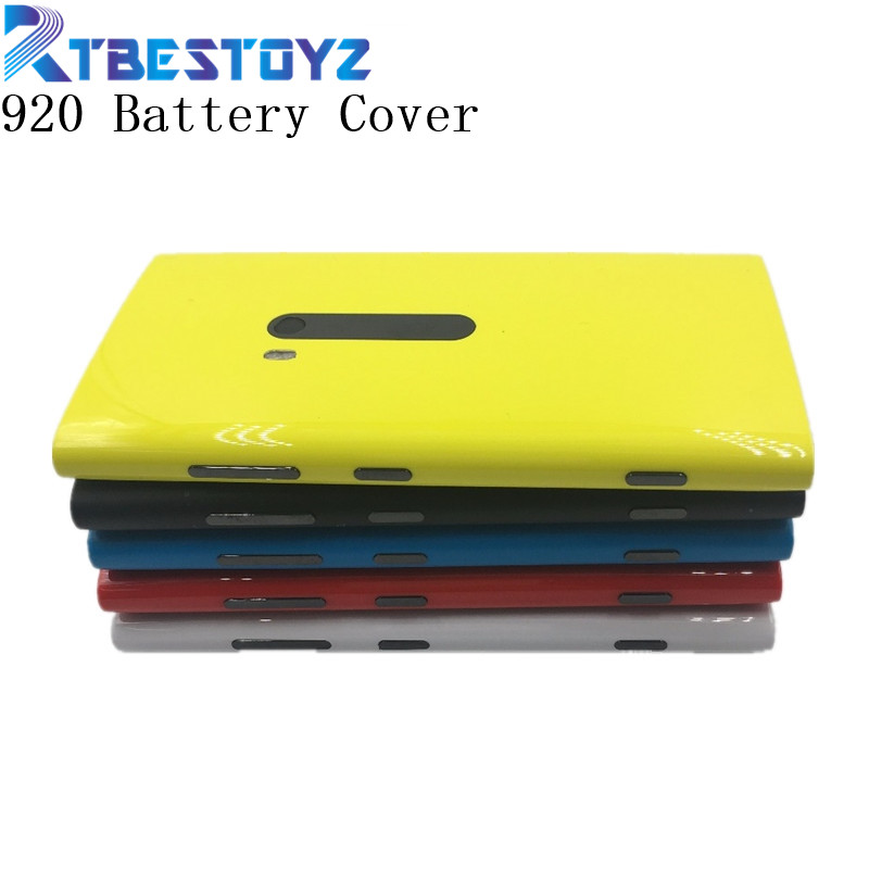 RTBESTOYZ Original Housing Battery Back Door Cover Case For Nokia lumia 920 N920 Replacement Parts image