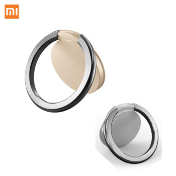 Original Xiaomi Metal Finger Ring Mobile Phone Stand Holder For iPhone iPad Samsung Smart Phone Mount Stand Watch TV Epacket RU Smart Remote Control