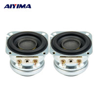 2pcs 40mm 5W 10W Full Frequency Bass Bluetooth Wifi Speaker Neodymium Hifi Free Shipping