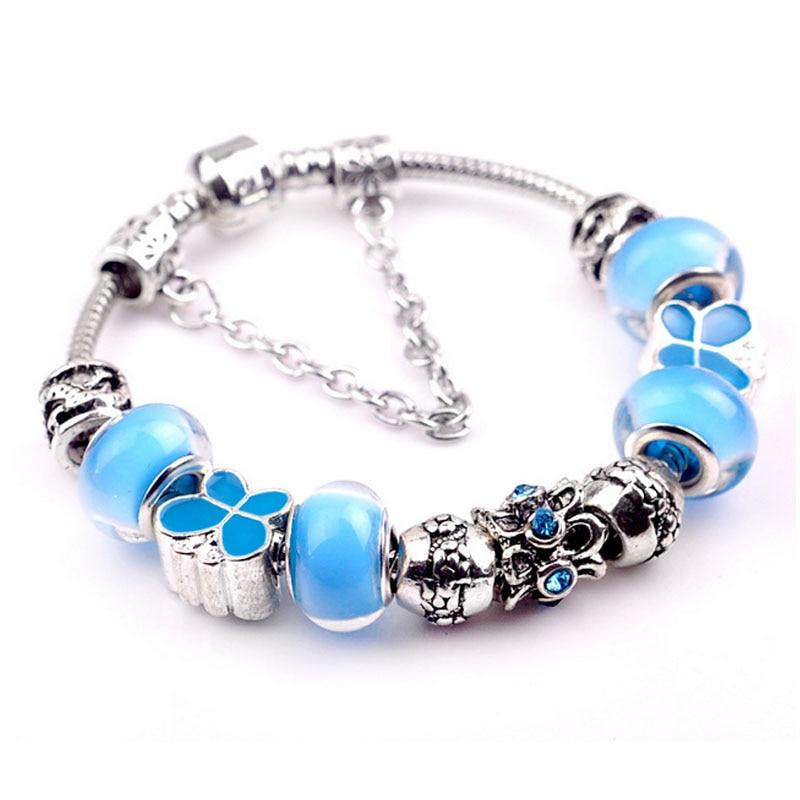 blue charm bracelet where to buy charms for pandora bracelet