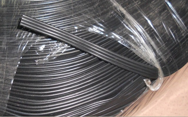 50m/lot 4pin all BLACK 18AWG cable for led pixel module