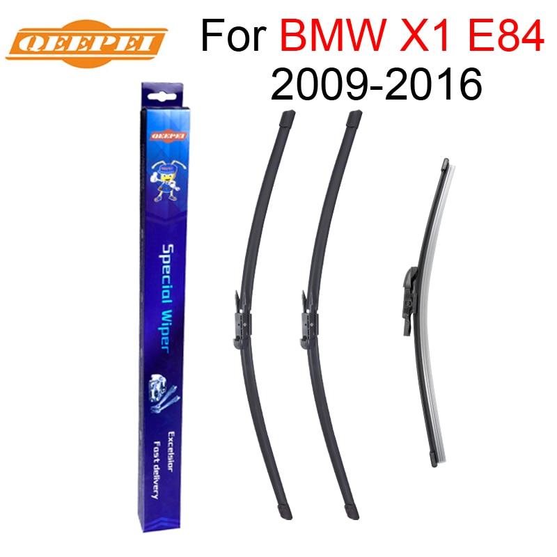 FIESTA Hatchback Aug 1995 to Jan 2002 Windscreen Wiper Blade Set Front and Rear Blades 3 x Blades