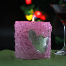 Big Size Rose Silicone Soap Candle  Molds Handmade Flower Decorating Crafts For