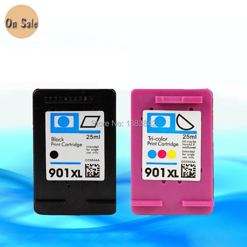 hisaint HP 901 tintapatronokhoz HP 901 xl esetén hp901 esetén - Irodai elektronika - Fénykép 2