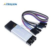 цена на CP2102 USB 2.0 to TTL UART Module Aluminum Shell 5Pin Serial Converter STC Replace FT232 Module Support 5V/3.3V