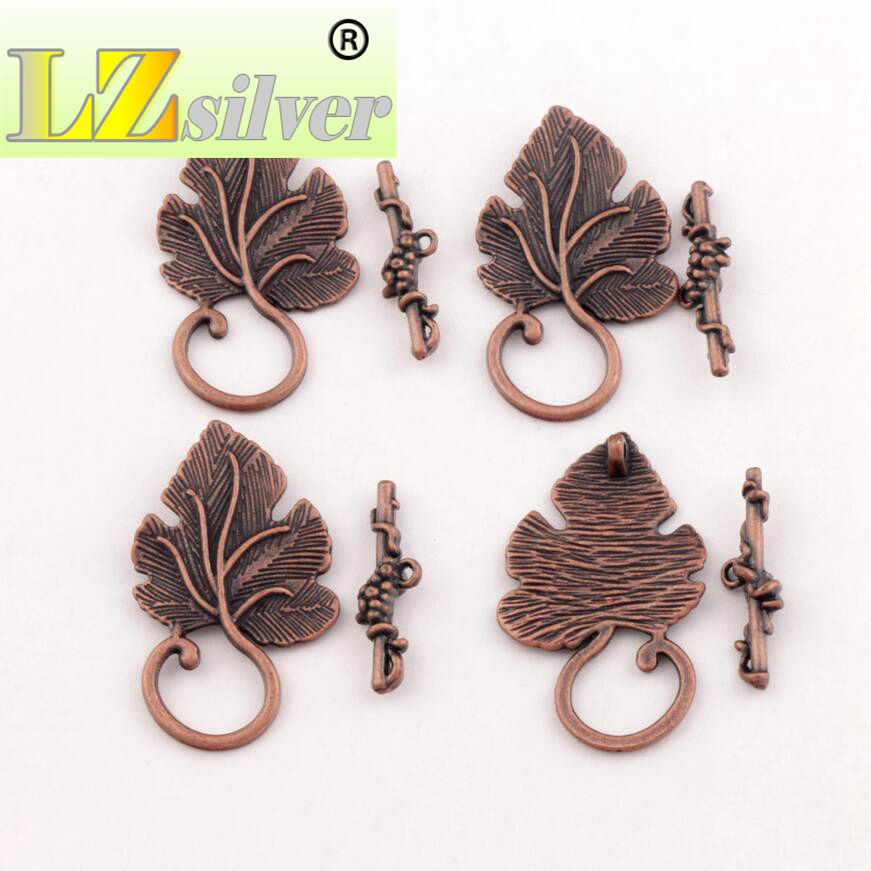 Jewelry & Access. ... Jewelry Findings & Components ... 32718554651 ... 2 ... Grape Leaf Alloy Toggle Clasp Jewelry Findings Fit Bracelets L872 7sets Antique Silver/Bronze/Copper/Gold ...