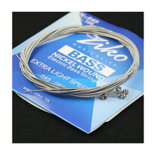 ZIKO DN-045 4strings 5strings 6strings Bass Electric Bass strings Bass parts wholesale musical instruments Accessories elixir 14777 14077 bass strings 5 electric bass guitar string 045 130 musical instrument guitar accessories 1 set