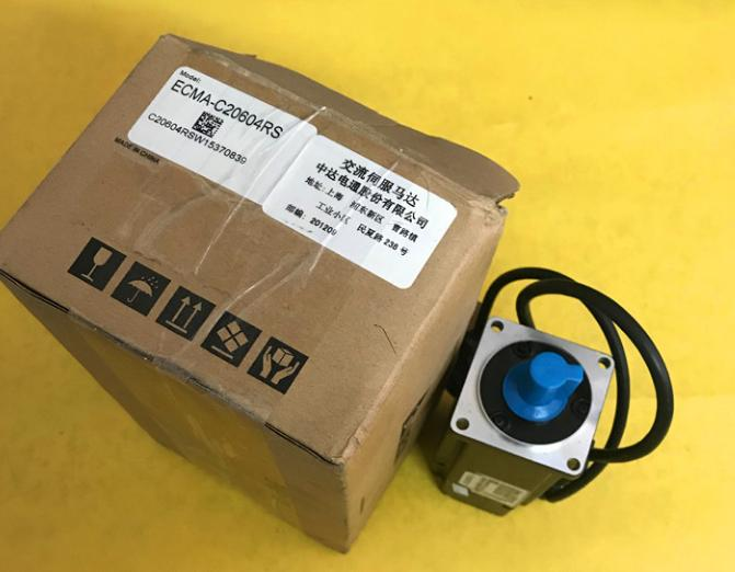 New Original ECMA-C20604RS AC Servo Motor 220V 400W 1.27NM 3000rpm Oil Seal dcs810 leadshine digital dc brush servo drive servo amplifier servo motor controller up to 80vdc 20a new original