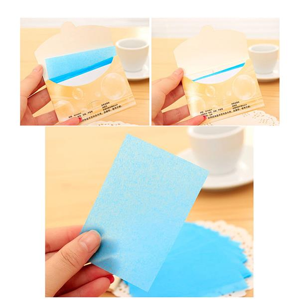 50 Oil Absorbing Paper Facial Tissue Face Tools Powerful Cleaning Cosmetic Beauty Girls Hot sale