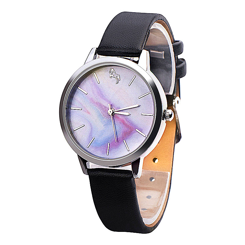 Women's Watches Fashion Casual Cute Girls Leather Band Analog Alloy Quartz Wrist Watch Dress Bracelet bayan kol saati A2 fashion woman s zinc alloy band quartz analog waterproof wrist watch bracelet silver golden