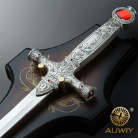 New Movie Harry Potter Gryffindor Sword Red Ruby Handle