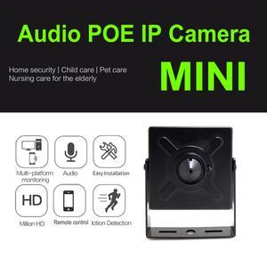 Image 3 - Audio Mini Ip Kamera 720 P 960 P 1080 P Hd POE Cctv Sicherheit Video Überwachung 2MP Indoor Hause Überwachung sicherheit kameras