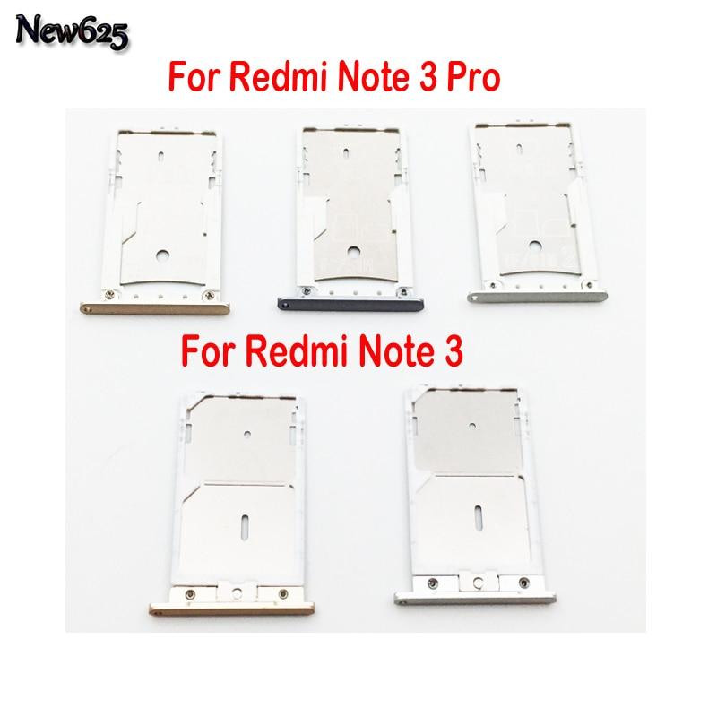 Original New Sim Reader Card Slot Holder Port For Xiaomi Redmi Note 3/ Redmi Note 3 Pro Sim Card Reader Tray Socket Slot Holder