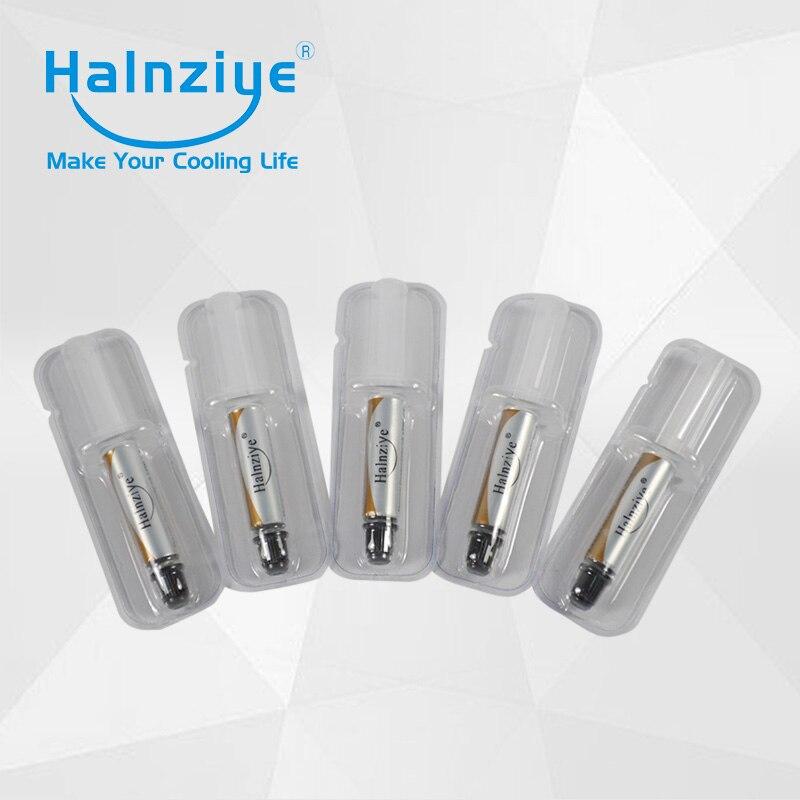 Halnziye HY710 Серебряная термопаста/паста 200 шт с короткой трубчатой упаковкой