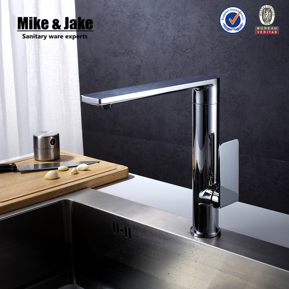 360 rotating Chrome Contemporary kitchen faucets Basin sink brass ...
