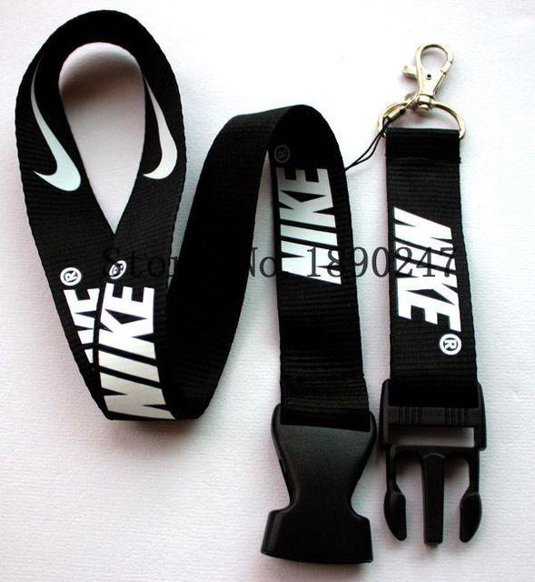 Pcs Nike Cordon Accrochage Boucle Porte Clés ID Porte Badge - Cordon porte clé