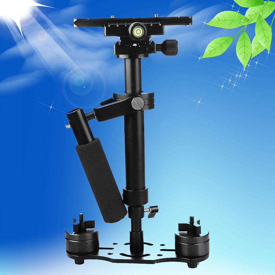Pro S40 40cm 0.4m Aluminum Alloy Steadicam Steadycam Handheld Stabilizer Bracket for Camcorder Video DV DSLR Camera 16BX s40 steadycam new s40 40cm handheld stabilizer steadicam for camcorder camera video dv dslr high quality gopro stabilizer