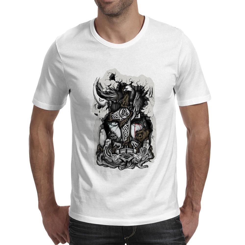Μεγάλη Odin T Shirt Casual Δημιουργική Αστεία - Ανδρικός ρουχισμός