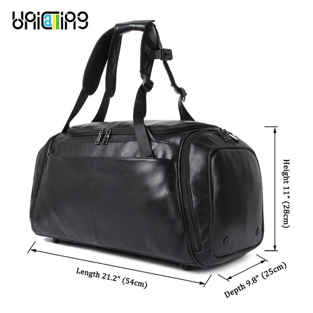 Neweekend marque voyage grande capacité sac à dos mâle bagages sac à bandoulière ordinateur sac à dos hommes fonctionnel sac d'école 2099 - 3
