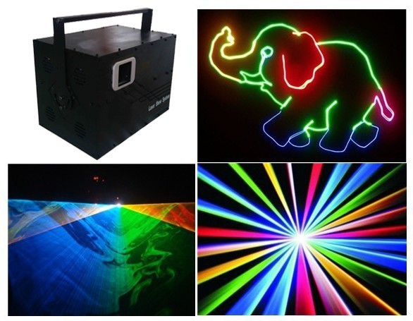 Commercial Lighting Rgb 4.5w Laser Disco 4500mw Rgb Laser Dj Lights Dt30k Red 635nm/1.5w,g1w,b2w+flightcase Stage Lighting Effect