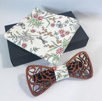 Cadılar bayramı için Ahşap Yay Bağları Mens Düğün Takımları Ahşap Bow Tie Kelebek Şekli Bowknots Gravatas İnce Cravat saç aksesuarları