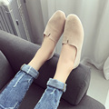 2016 otoño nuevo damas zapatos perezosos zapatos planos femeninos