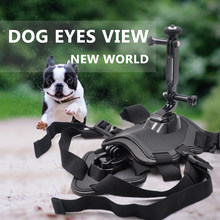 Pets Dog Harness Mount Chest Strap Shoulder Belt With Camera Holder for Insta360 ONE X/EVO Action Camera Dog Harness Mount(China)