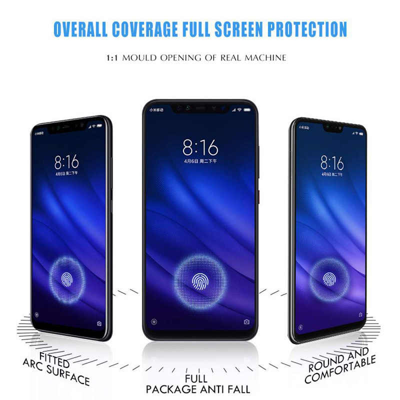 9D Full Cover Tempered Glass For Xiaomi Redmi Note 7 6 5 Pro Protective Glass Redmi 4X 5A 6A 5 Plus 6 Pro 7 S2 Screen Protector