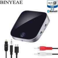 Aptx низкой задержкой беспроводной Bluetooth 4,2 NFC оптический SPDIF коаксиальный Оптический выход RCA аудио Музыка ТВ передатчик ЦАП