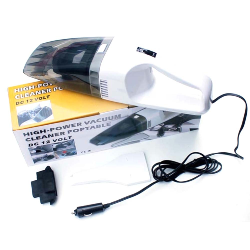 Handheld Vacuum Cleaner Dc 12v 60w High Power Wet And Dry