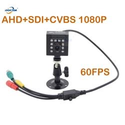 HQCAM 50fps 60fps Night Vision AHD + SDI + CVBS 1080 P SDI kamera na podczerwień gwiazd kamery 1/3 cal 2.1MP Panasonic czujnik Mini kamera SDI Kamery nadzoru    -