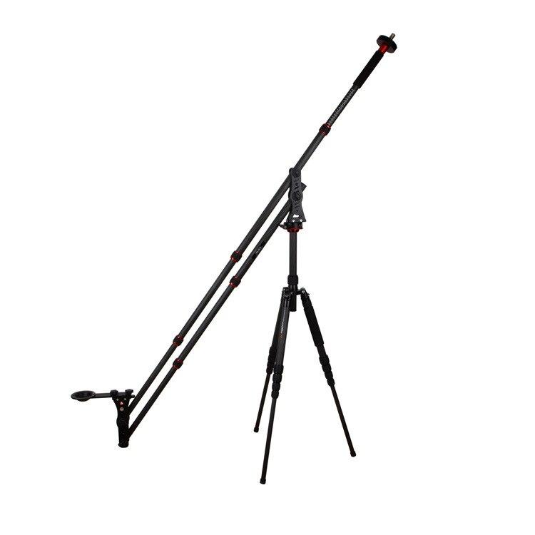 Mini grue de flèche portative de DSLR de VM-301C pour la photographie de caméra vidéo Mini bras de tir de grue de caméra à bascule flexible pour DSLR CD50