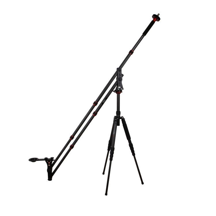 VM-301C portable DSLR mini jib grue pour vidéo caméra photographie flexible rocker caméra grue Mini tir bras pour DSLR CD50