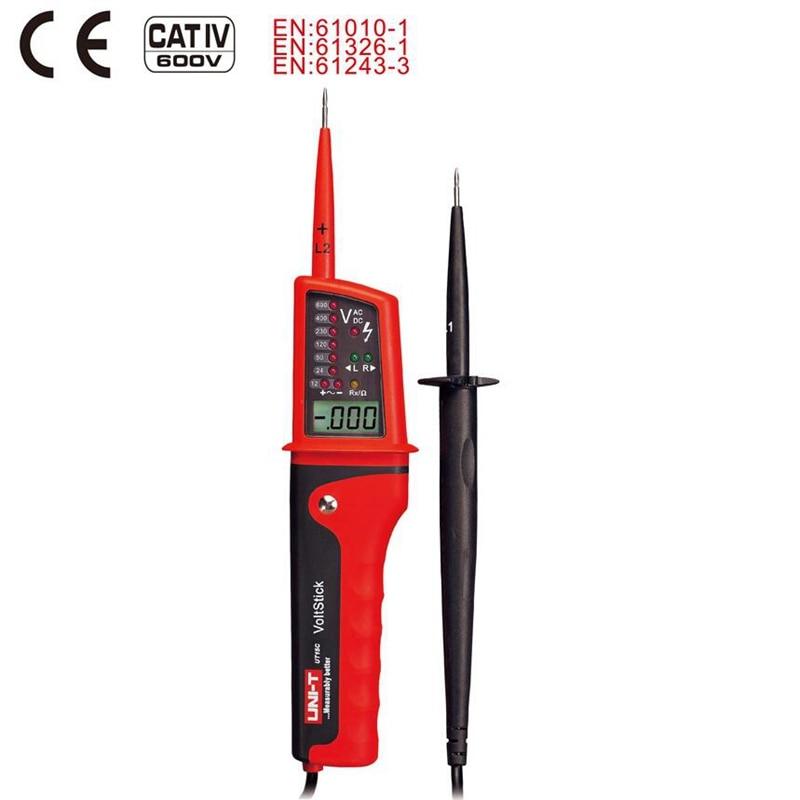 Lcd Display Uni T Ut15c Spannung Meter Tester Wasserdicht Ip65 Typ Spannung Tester Voltmeter Motorrad Voltimetro