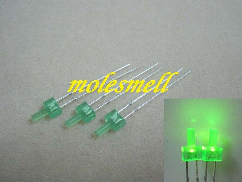 verde difuso led leds luz verde lente frete grátis
