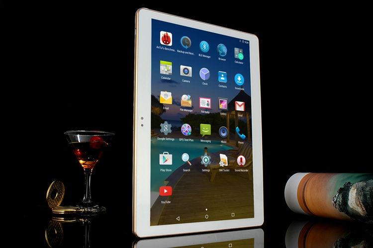 BOBARRY טבליות אנדרואיד 5.1 אוקטה Core 64GB ROM מצלמה כפולה ו-Dual SIM Tablet PC תומך OTG WIFI, GPS, 4G LTE טלפון bluetooth