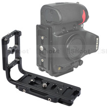 IShoot L кронштейн вертикальный Quick Release Plate Камера ручка держатель для Nikon D7100 D7000 D5200 D5100 D5000 D3200 D300/ d600 D90 D80