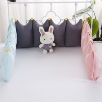 High Quality One Piece Baby Bed Bumper in the Crib Cot Bumper Baby Bed Protector Crib Bumper Newborns Toddler Bed Bedding Set