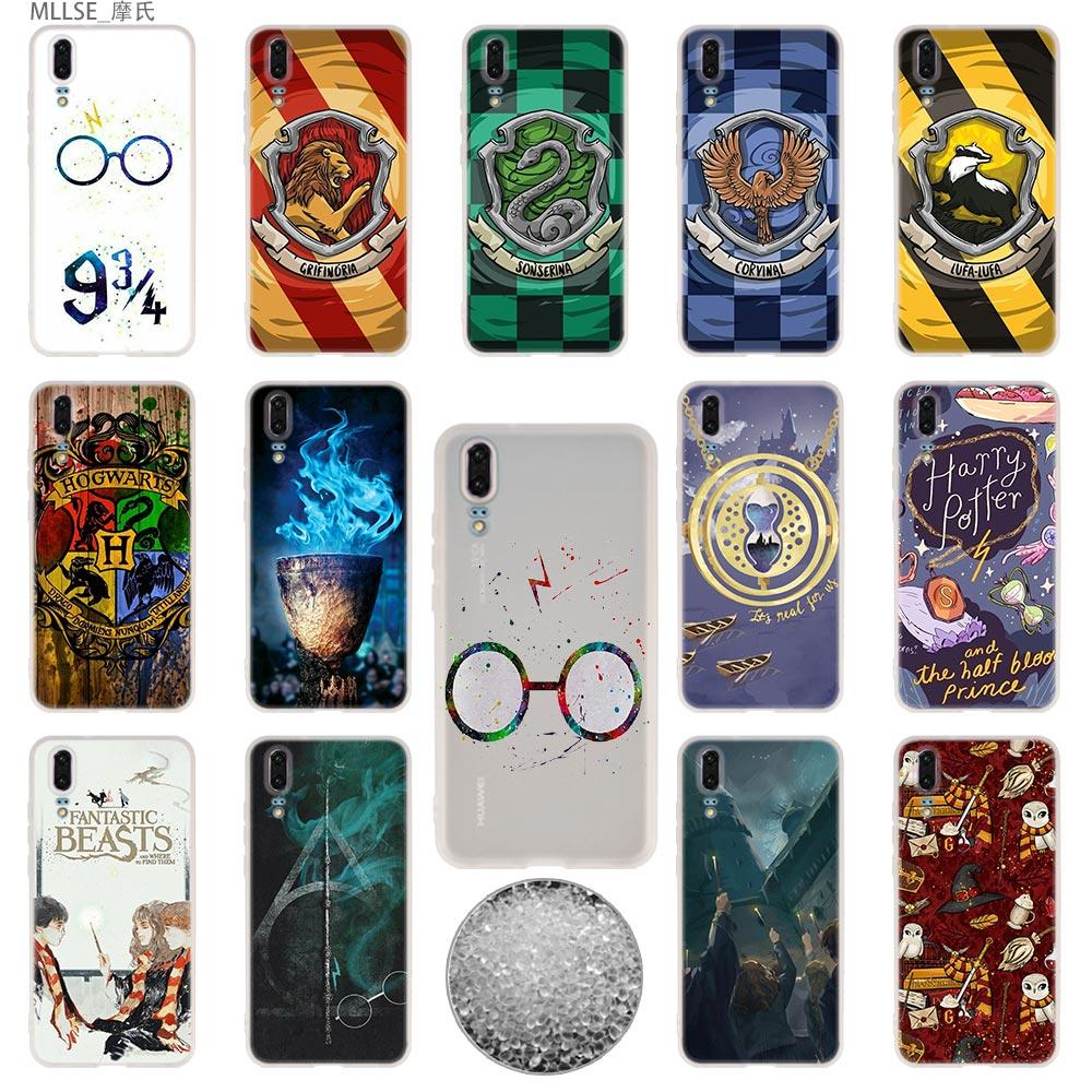 Tpu Cover Telefoon Gevallen Zachte Voor Huawei P 20 Pro P10 Plus P9 P8 Lite 2017 P30 Pro Samrt 2019 Nova 3e Wand Harry Potter Een Plastic Behuizing Is Gecompartimenteerd Voor Veilige Opslag