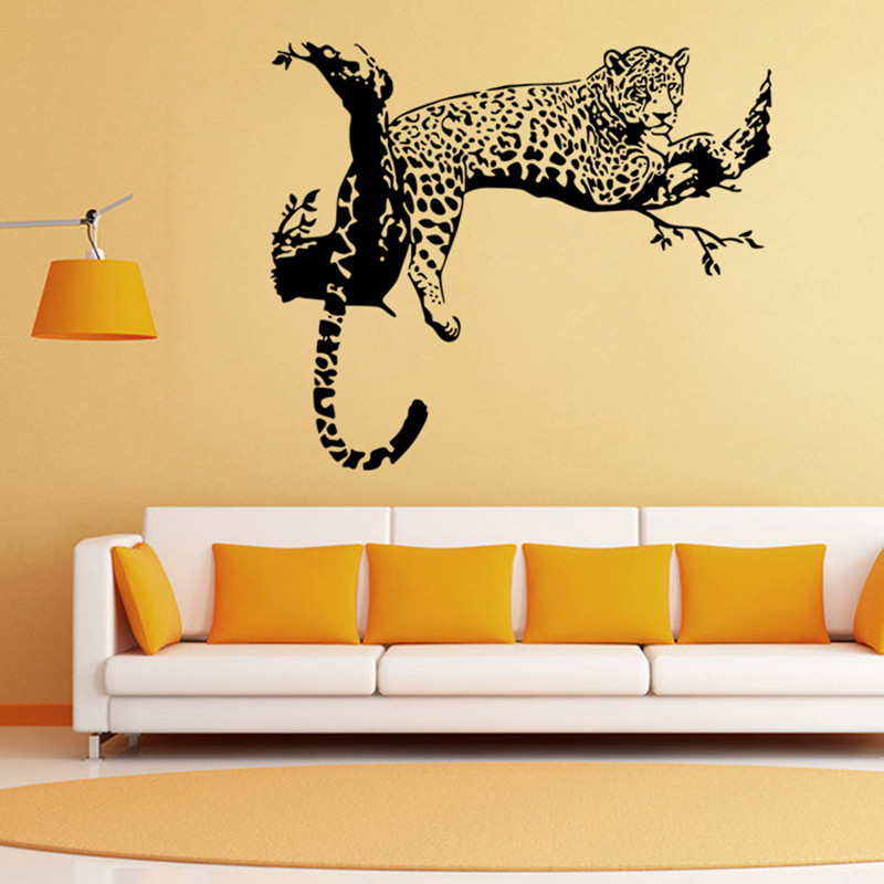 High Quality Online Get Cheap Leopard Print Wall Decals. Part 21