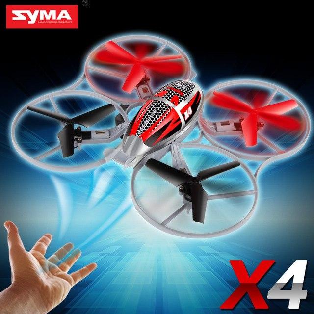 Syma X4 4-Ch 2.4 GHz 6-Axis Gyro RC Quadcopter Helicóptero Com Luzes de Flash Mini Helicóptero de Controle Remoto Quad Copter Brinquedos