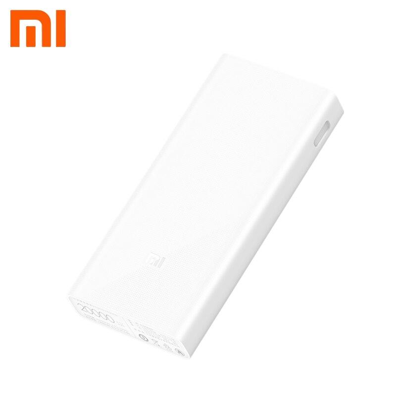 Xiaomi Mi Power Bank 20000 мАч быстрое зарядное Устройство внешний аккумулятор портативное зарядное устройство power bank Двойной выход <font><b>USB</b></font> Для смартфона и &#8230;