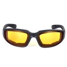 Мотоцикл ехал ветер и песок очки Дым Ясно желтый серый прозрачный велосипед на открытом воздухе Велоспорт Спорт очки