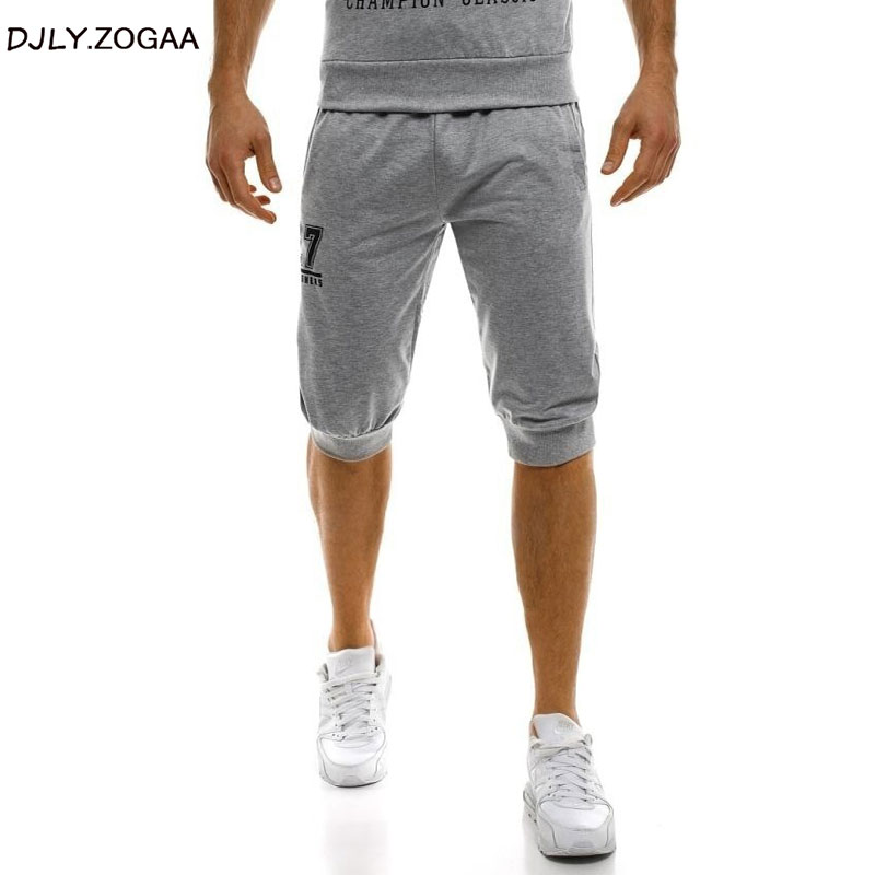 Men Cotton Shorts Summer Men's Causal Trousers Elastic Waist Short Trousers Male Comfortable Plus Size Joggers Short Sweatpants