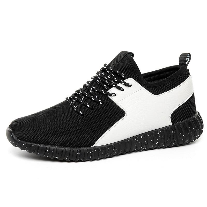 2017 hete verkoop mannen loopschoenen voor de beste trends uitvoeren atletische trainers Zapatillas sportschoenen mannen maat 37-44 lace-up sneaker
